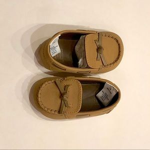 NWT Janie and Jack Baby  loafer moccasins Size 2